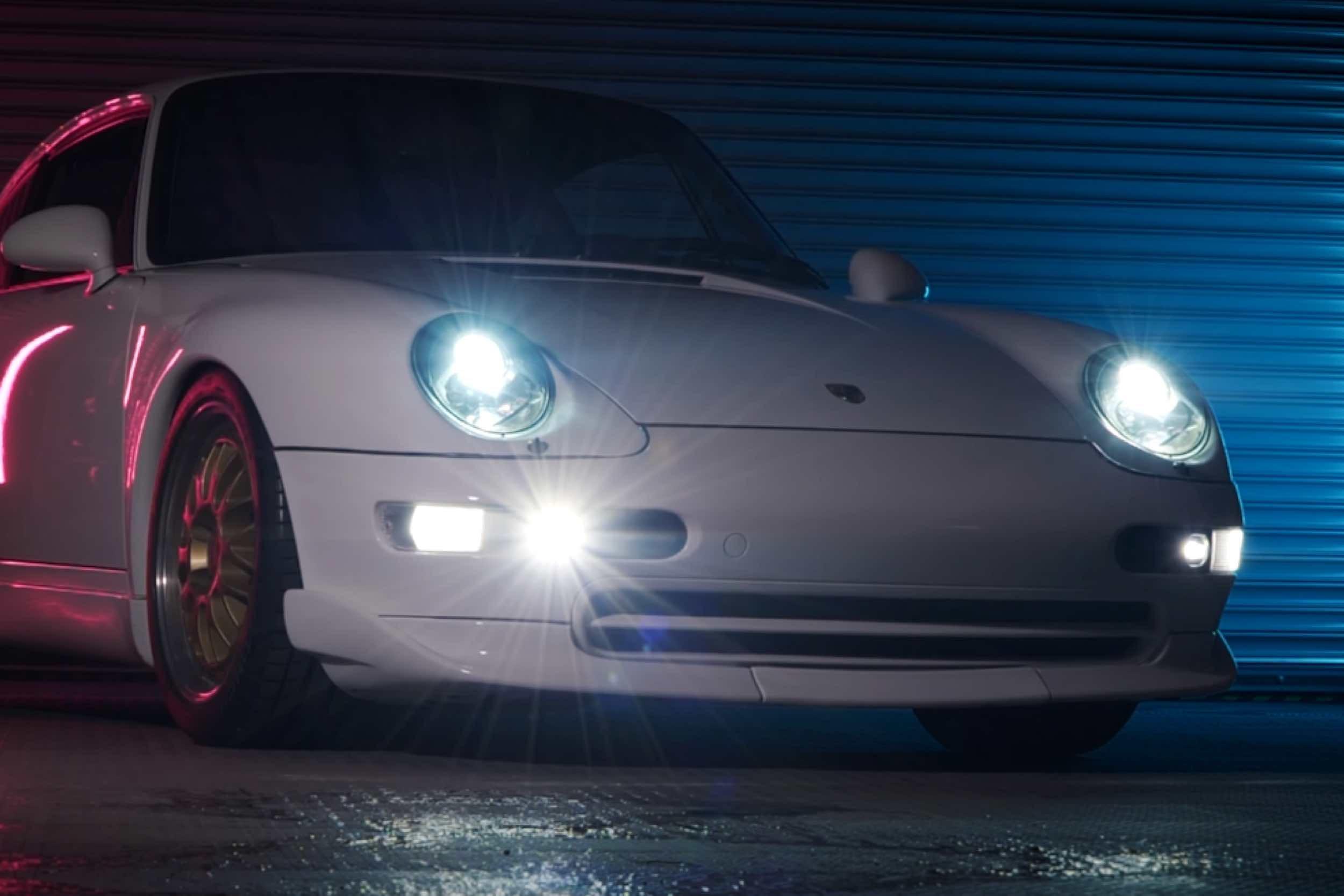 New Superduty, Tacoma, Tundra and Porsche LED Lights from Morimoto