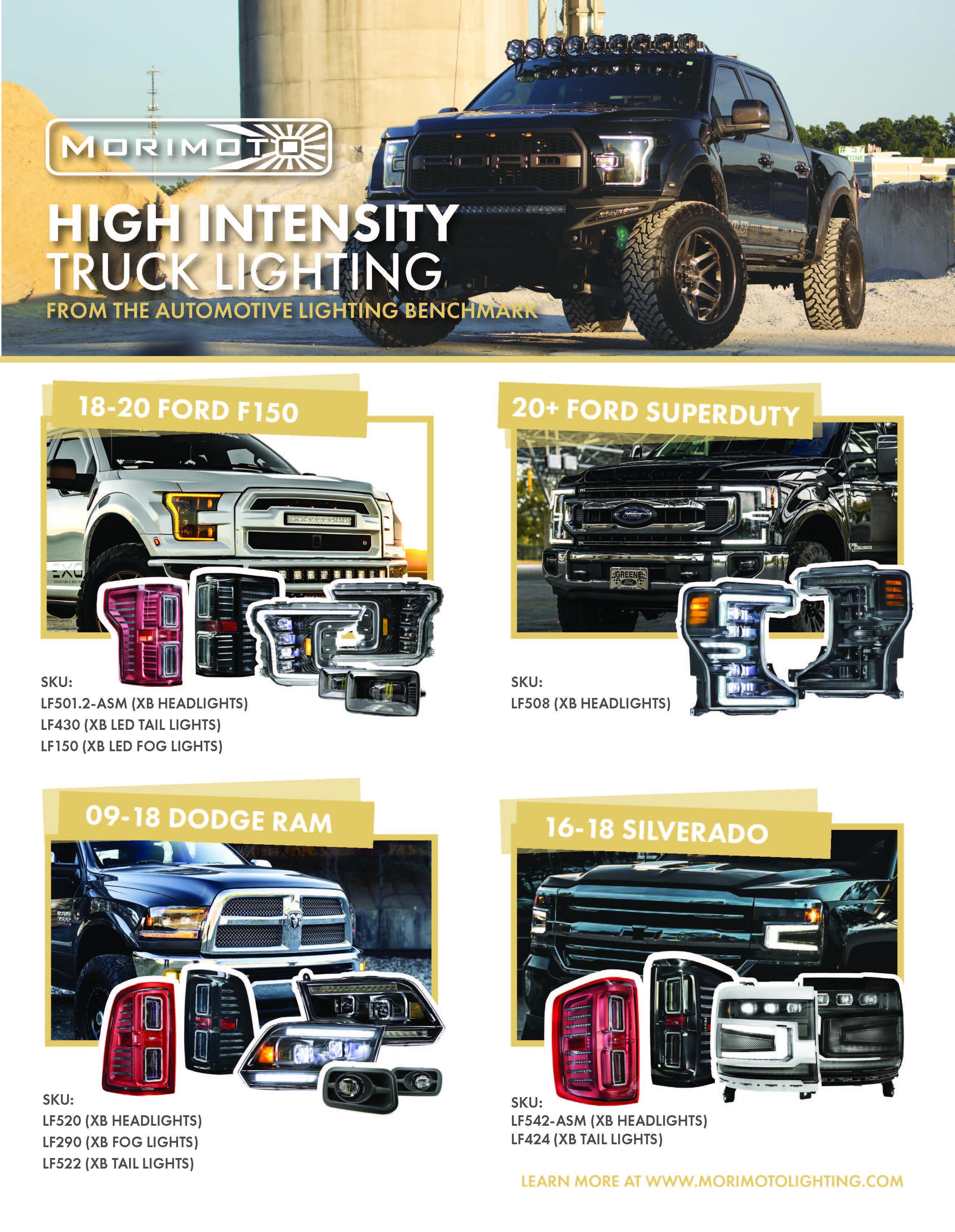 Morimoto: High Intensity Truck Lighting