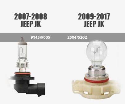 Jeep-Wrangler-Fog-light-bulb-styles