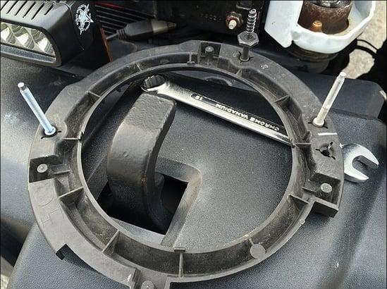 jeep headlight bracket