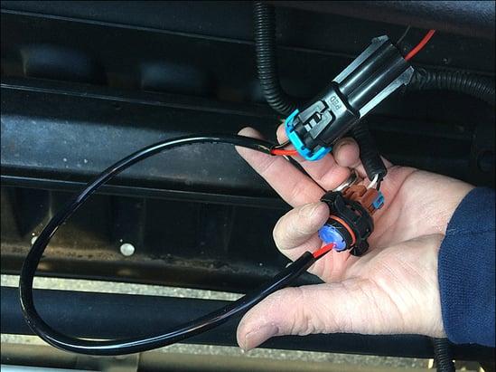 jeep led fog light harness adaptor