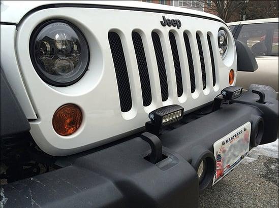 jw speaker 8700 evo 2 installed in jeep