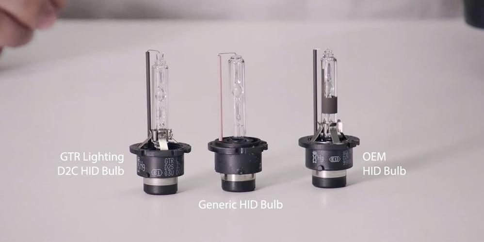 D2c HID bulbs from GTR Lighting
