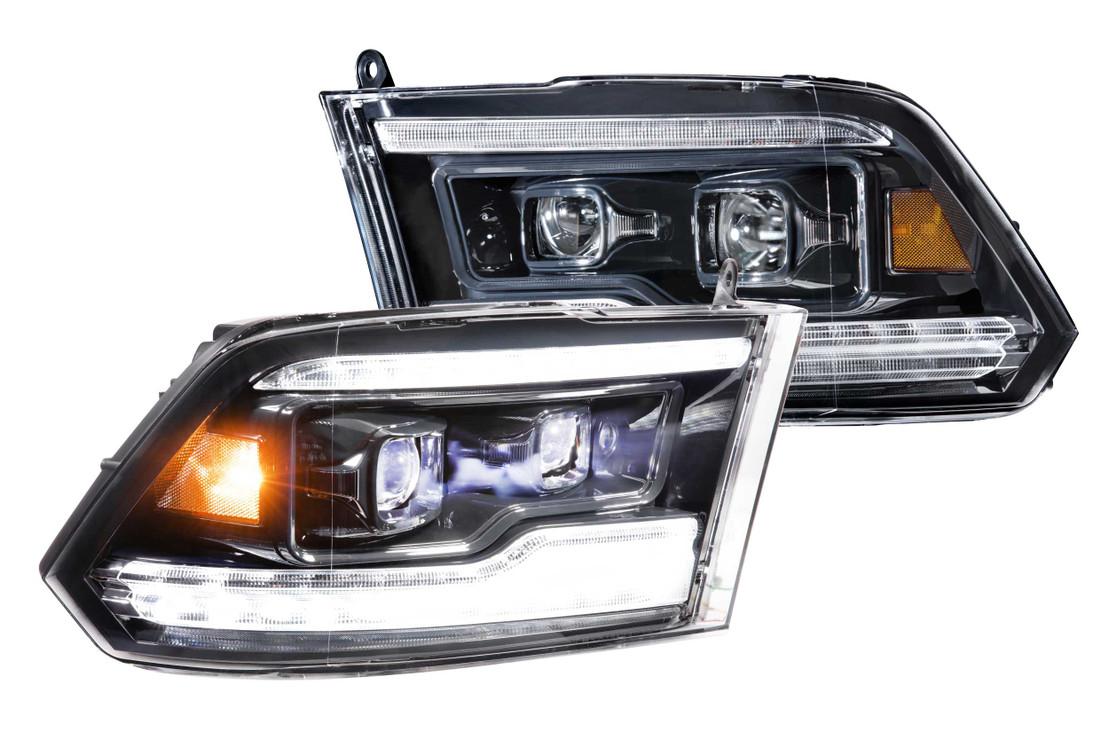 09-18 Dodge Ram Morimoto Headlights