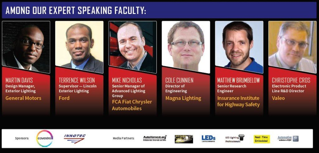 Speakers at the Advanced Lighting Conference in Detroit, MI in May 2016